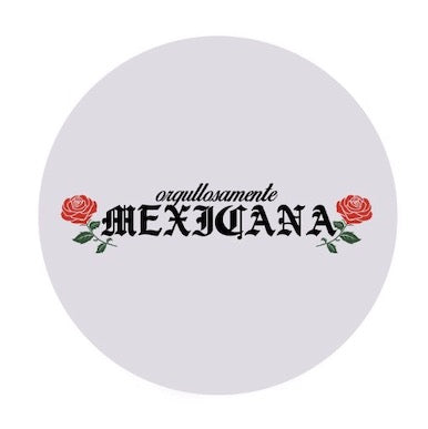 'Orgullosamente Mexicana' White Phone Grip
