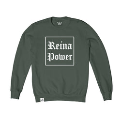 'Reina Power' Sweatshirt Olive