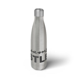 'DREAM & HUSTLE' SILVER BOTTLE