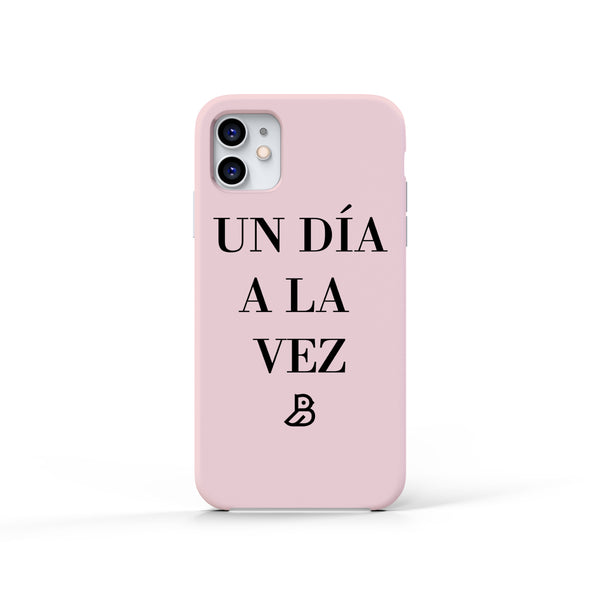 'UN DIA A LA VEZ' PINK IPHONE CASE