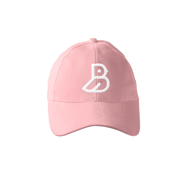 PINK 'BIRD' LOGO DAD CAP
