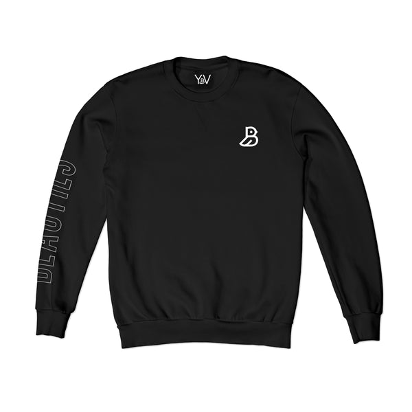 'BEAUTIES' BLACK SWEATSHIRT