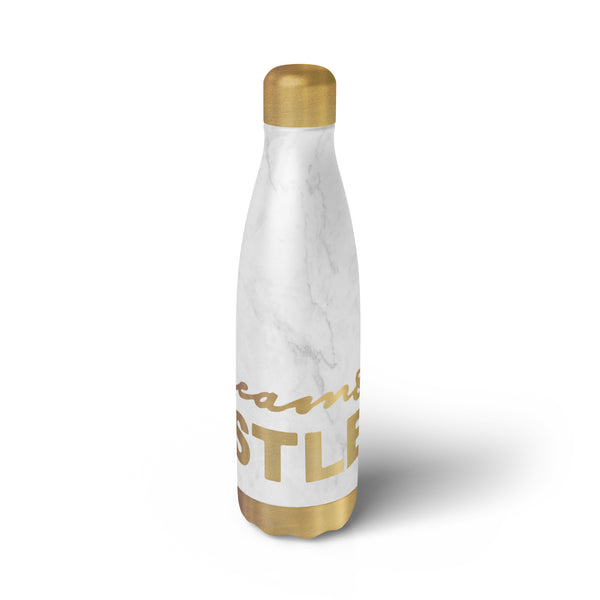 'DREAM AND HUSTLE' MARBLE BOTTLE