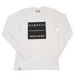 """Familia Over Everything"" White Long Sleeve"