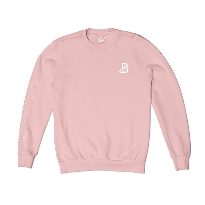 'BEAUTIES' PINK SWEATSHIRT