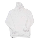 "White "" Stay Dreamin' Stay Hustlin' "" Hoodie"