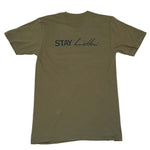"""Stay Dreamin' Stay Hustlin' "" Army Tee"