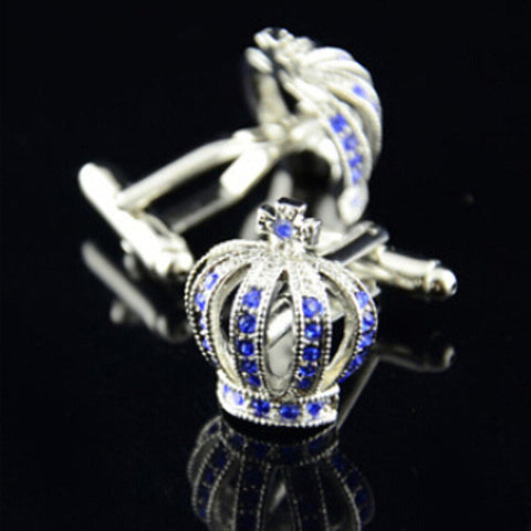 French crown Cufflinks