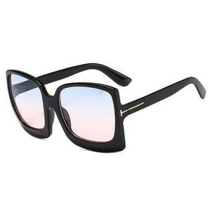 Oversize Women Sunglasses Square Frame Big Luxury Sun Glasses Gradient Sexy Shades Brand Designer Retro Female gafas de sol