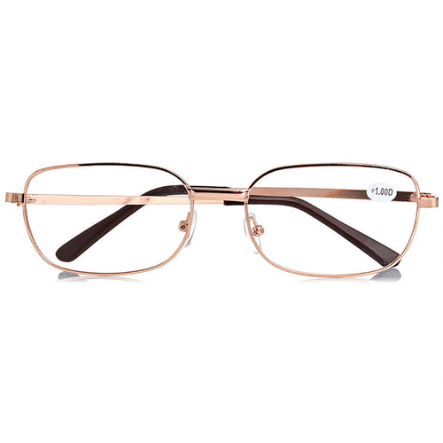 Metal Anti-Fatigue Reading Glasses Unisex