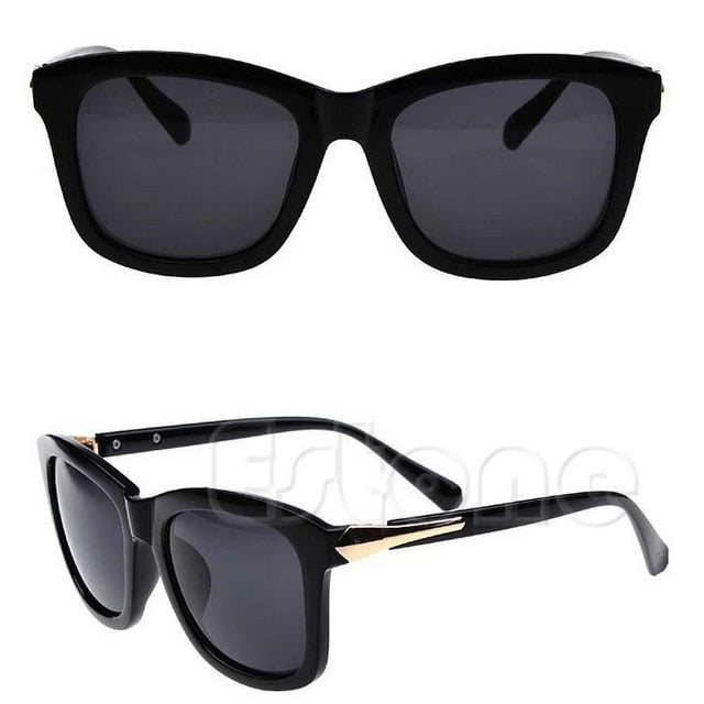 1PC New Retro Women Plastic Frame Square Sunglasses Eyeglasses Vintage Style Glasses