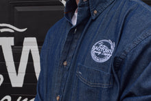 Bagtown Brewing Embroidered Denim Shirt