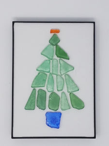 Sea Glass Holiday Tree