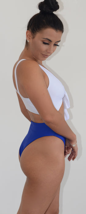 The High Leg 'Cobalt' Swimsuit