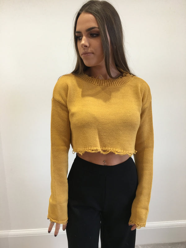 Mustard Crop Jumper