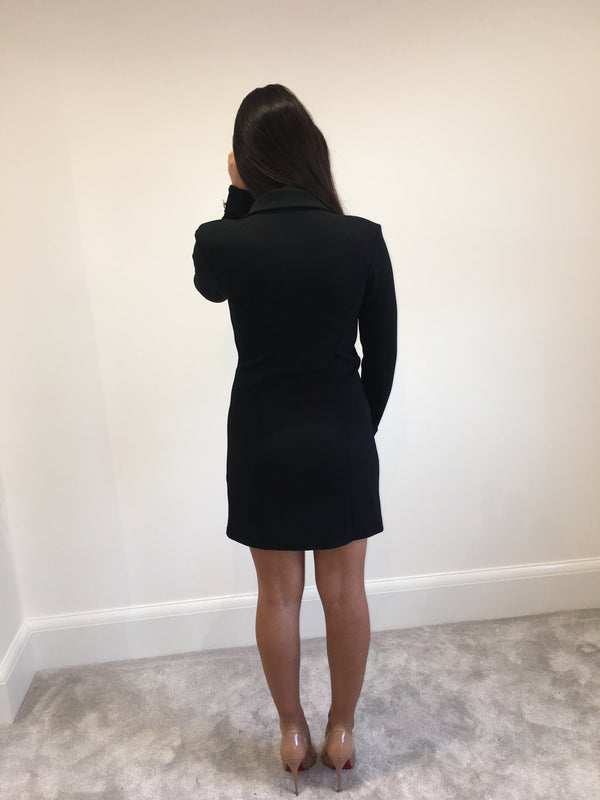 Black Blazer Dress