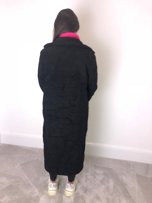 Black Borg Longline Coat