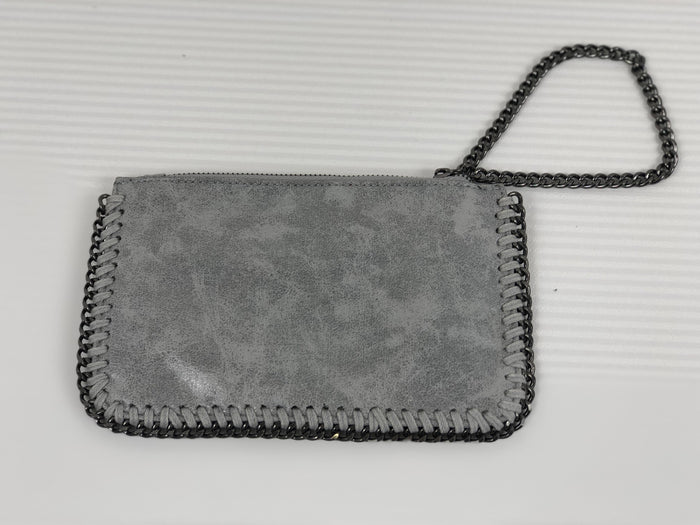 Light Grey Mini Clutch