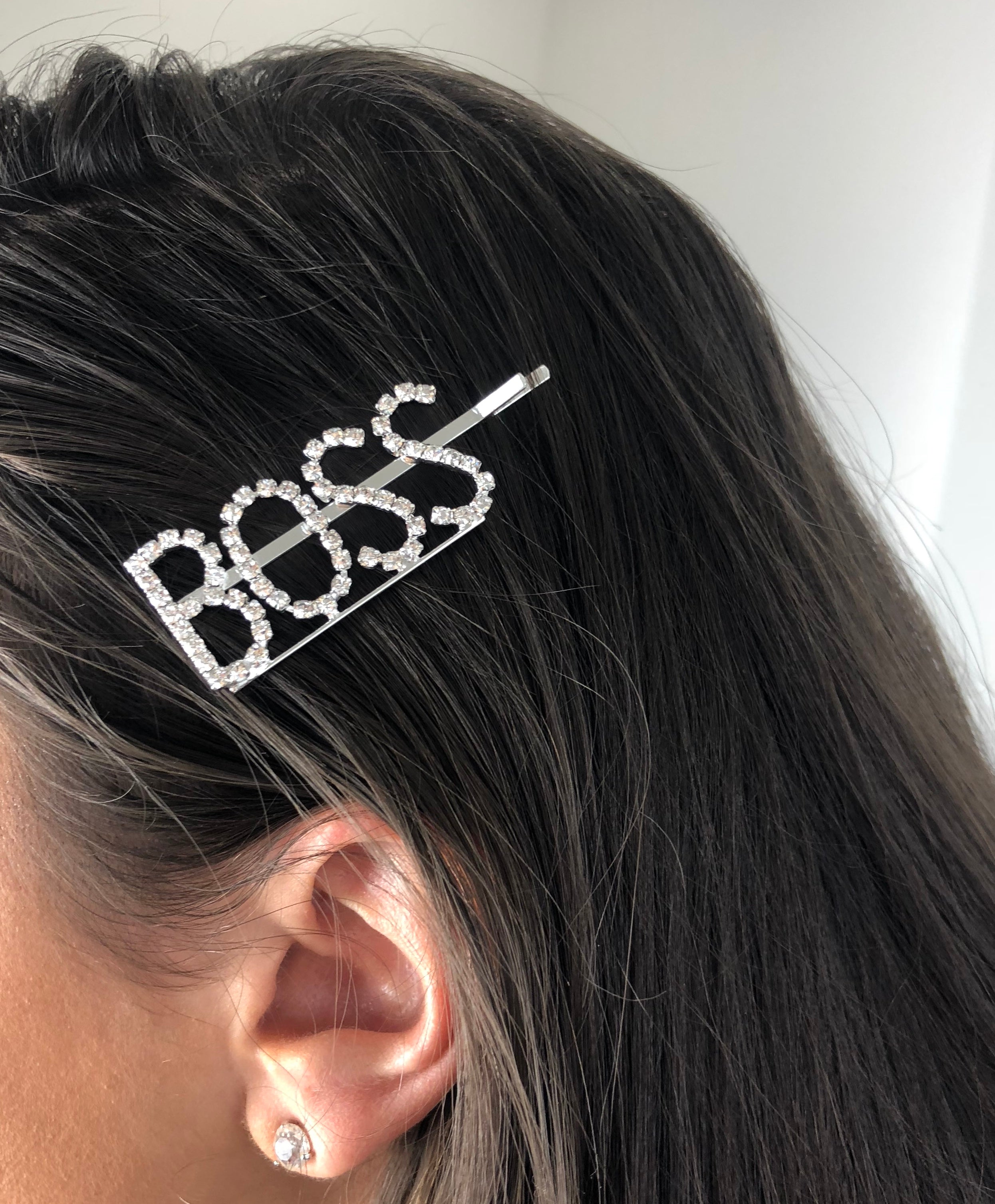 'Boss' Hair Slide