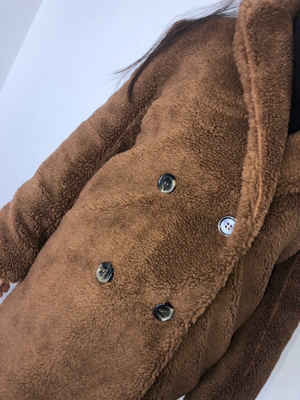 Brown Teddy Coat