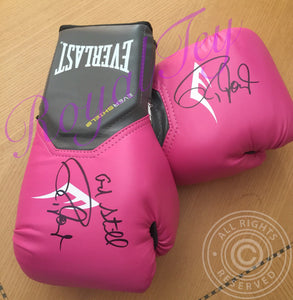 Autographed Boxing Glove