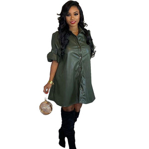 **NEW** Women's Sexy Shirt Dress