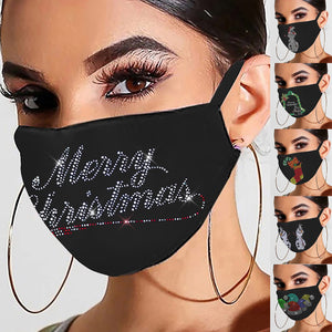 **NEW** Fashion Christmas Bling Rhinestone Mask