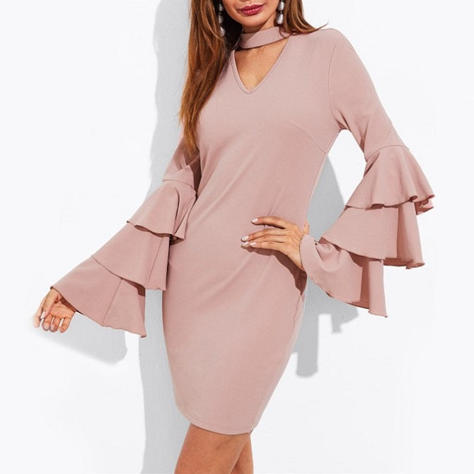 Martha Ruffle Dress