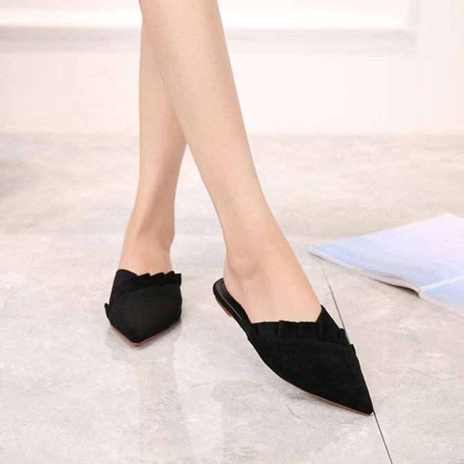 Esther Flat Mules