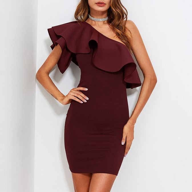 Deirdre Ruffle Dress