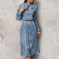 Verona Pleated Dress