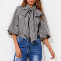 Theresa Bow Blouse