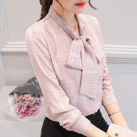 Irina Bow Blouse