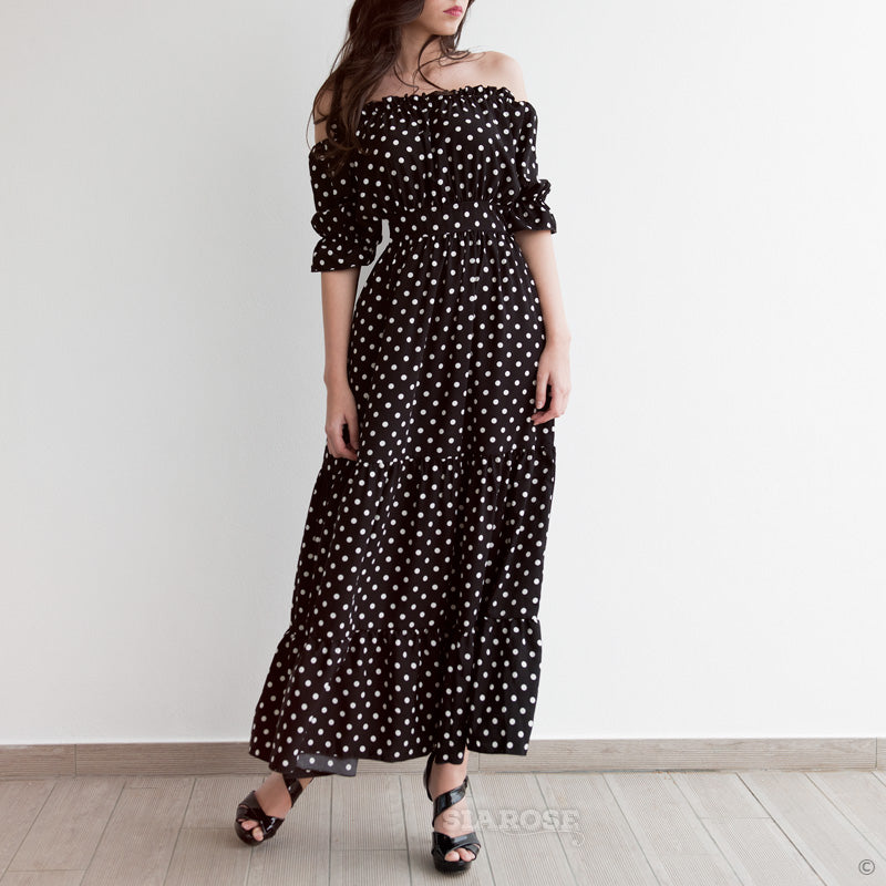 Scarlett Dots Dress