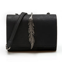 Stiff Feather Bag