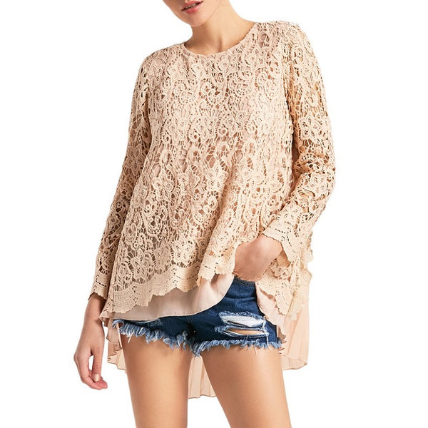 Madlyn Lace Top