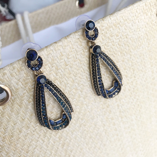 Nanette Crystal Earrings