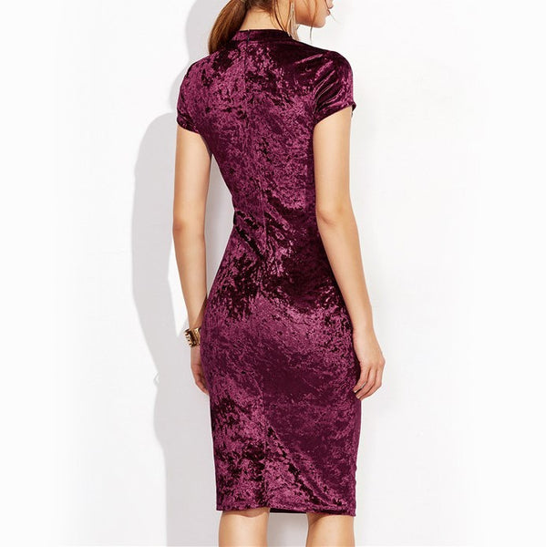 Margot Velvet Dress