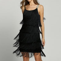 Flapper Fringes Dress
