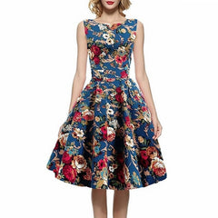 Canvas Vintage Dress