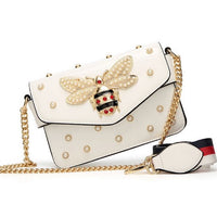 Queen Bee Pearly Bag