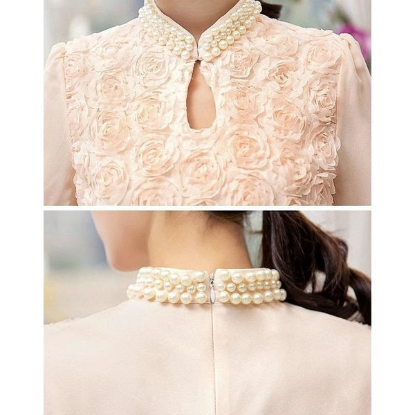 Roses Pearl Blouse