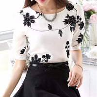 Holly Embroidery Blouse