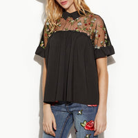 Cheryl Collar Blouse