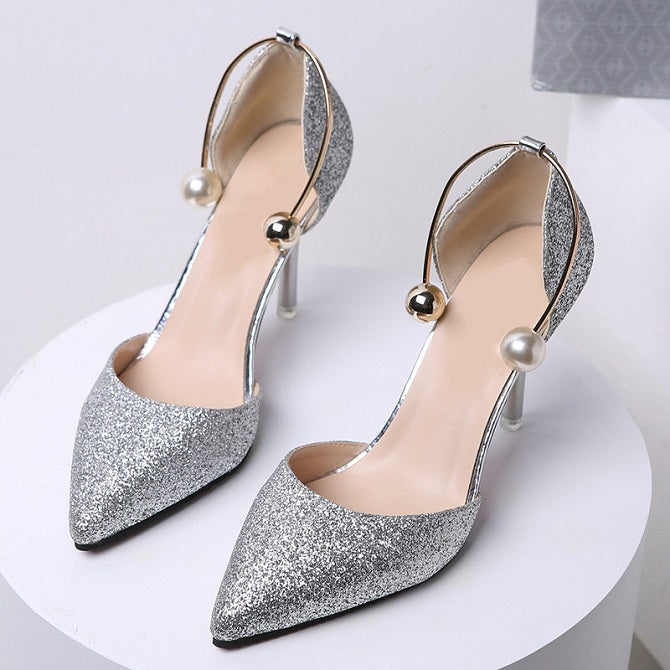 Courtney Pearl Stiletto