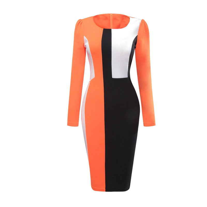 Lessie Colorblock Dress