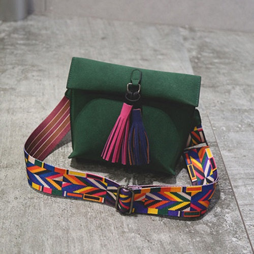 Colorful Tassel Bag
