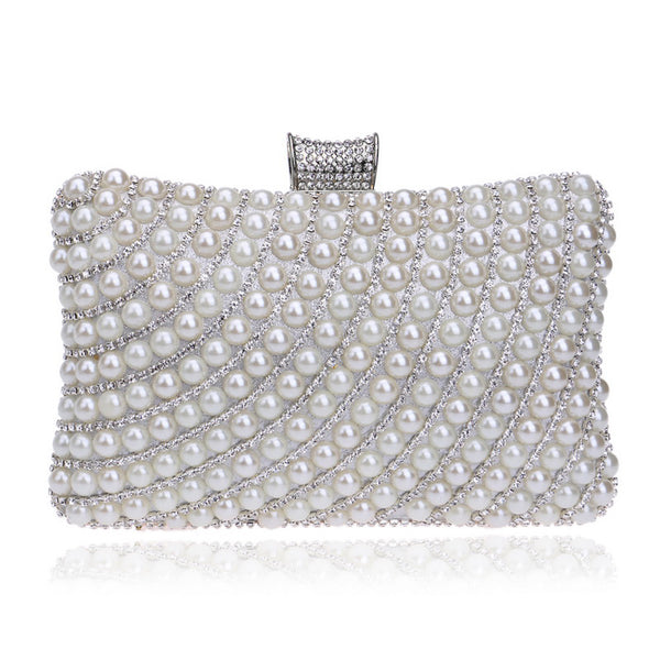 Layla Sparky Pearl Clutch
