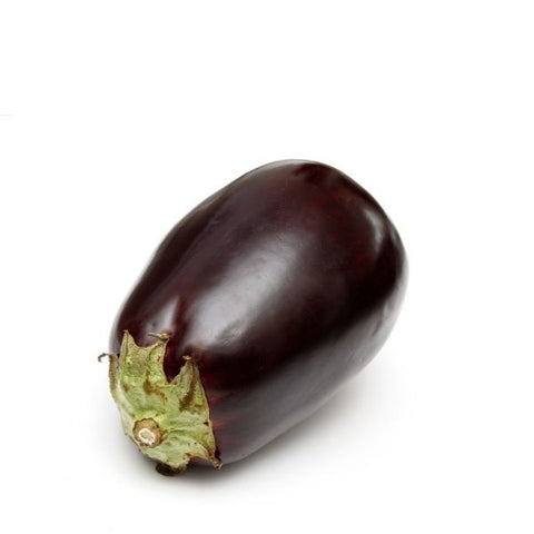 Eggplants round , extra-large, 2kg pack