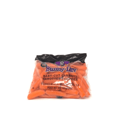 Carrots, Baby USA, 0.34 kg Bag